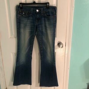True religion jeans bootcut size 28 euc!